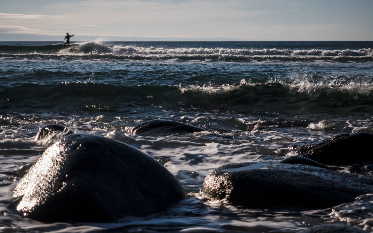 Animal Themes Animals In The Wild Arctic Beach Beauty In Nature Day Horizon Over Water Lofoten Lofoten Islands Nature Nature No People Norway Ocean Outdoors Rippled Scenics Sea Sky Surf Surfing Unstad Water Wave Waves