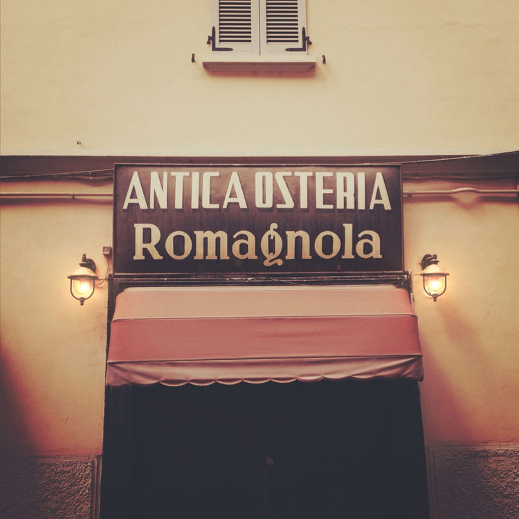 restaurant in Bologna by Adam Sheath