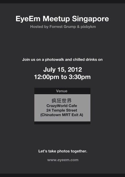 Singapore EyeEm meetup in Singapore by Pixbykm