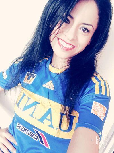 Tigres UANL Tigres UANL Te Quiero <3 Azul Y Oro Selfie KissMe Sisepuede Kiss Kiss Pretty Amamedeverdad
