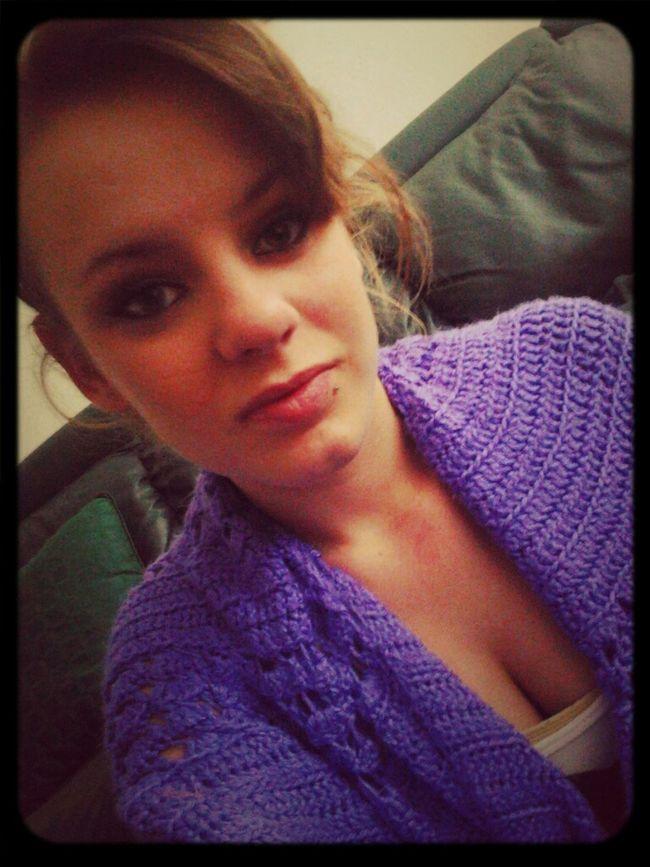 my purple blanket