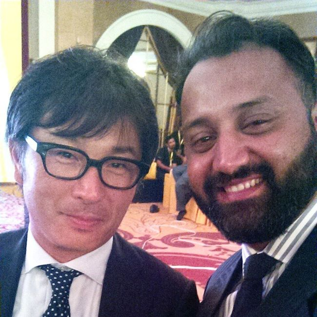 Selfie with MD Nikon Japan Selfie Nikon Japan NikonPakistan LaunchD7200 LaunchD5500