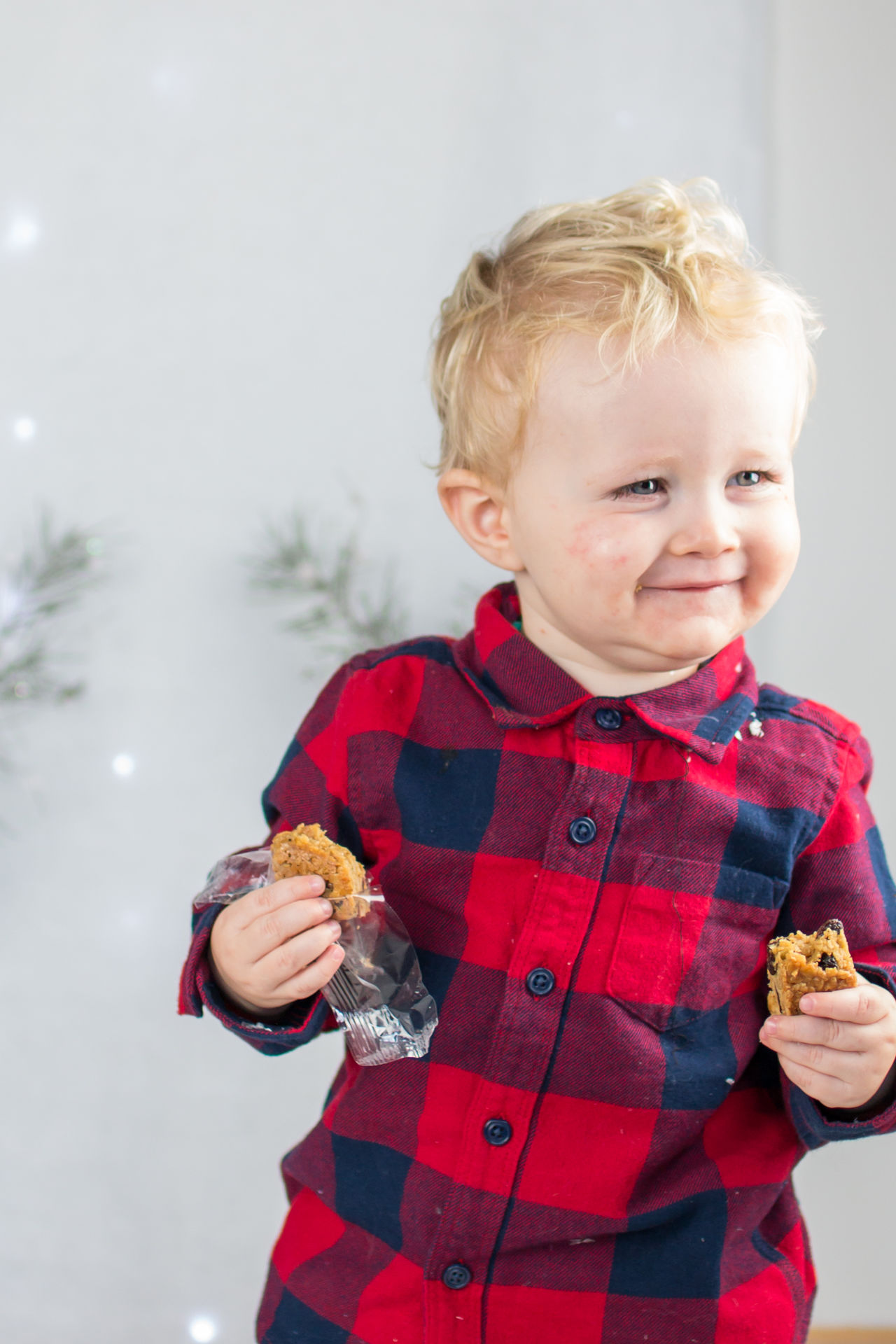 A bit of cake! Biscuit Boys Childhood Christmas Christmas Christmas Fun Cute Cute Christmas Day Joy Outdoors People Portrait Portraits Smiles Snow Streamzoofamily Toddler  Winter Winter Winter Joy Winter Wonder