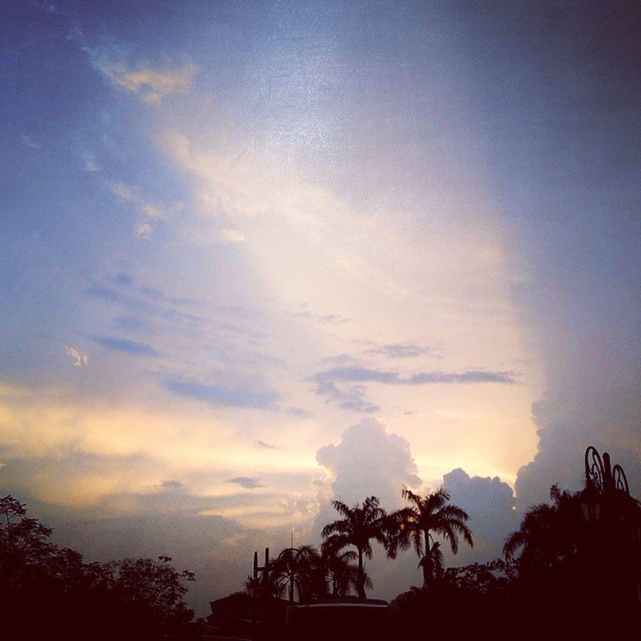 Cloudysky Nature Outdoor Malaysia Tanjungmalim Upsi Silhouette Sunset Perak