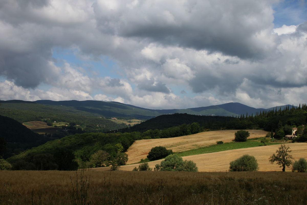 Amelia Beauty In Nature Cloud Cloud - Sky Countryside Field Italy Landscape Mountain Range Nature Non-urban Scene Outdoors Rural Scene Umbria