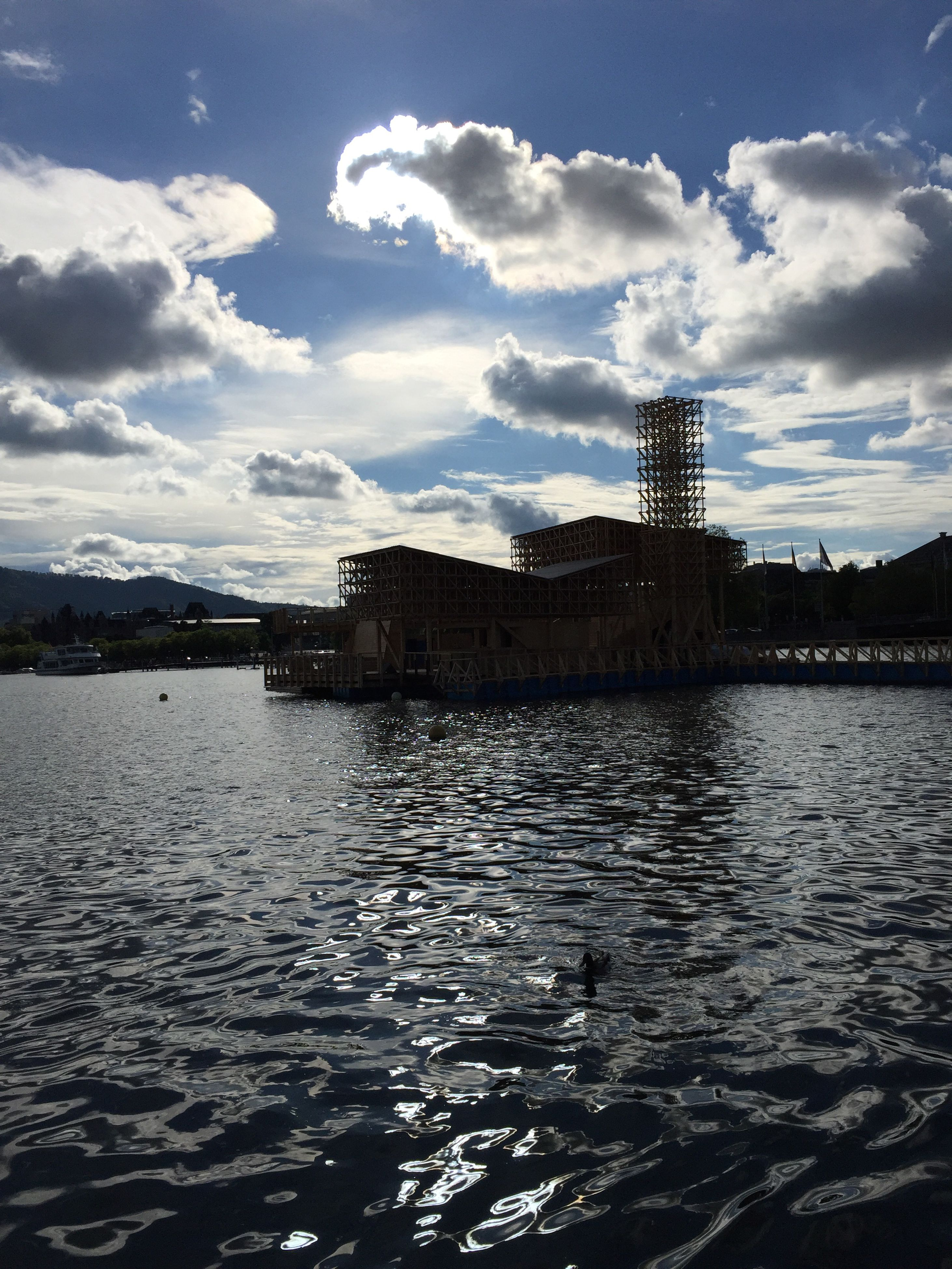 water, cloud - sky, sky, sea, city, nature, outdoors, architecture, built structure, no people, day, scenics, beauty in nature