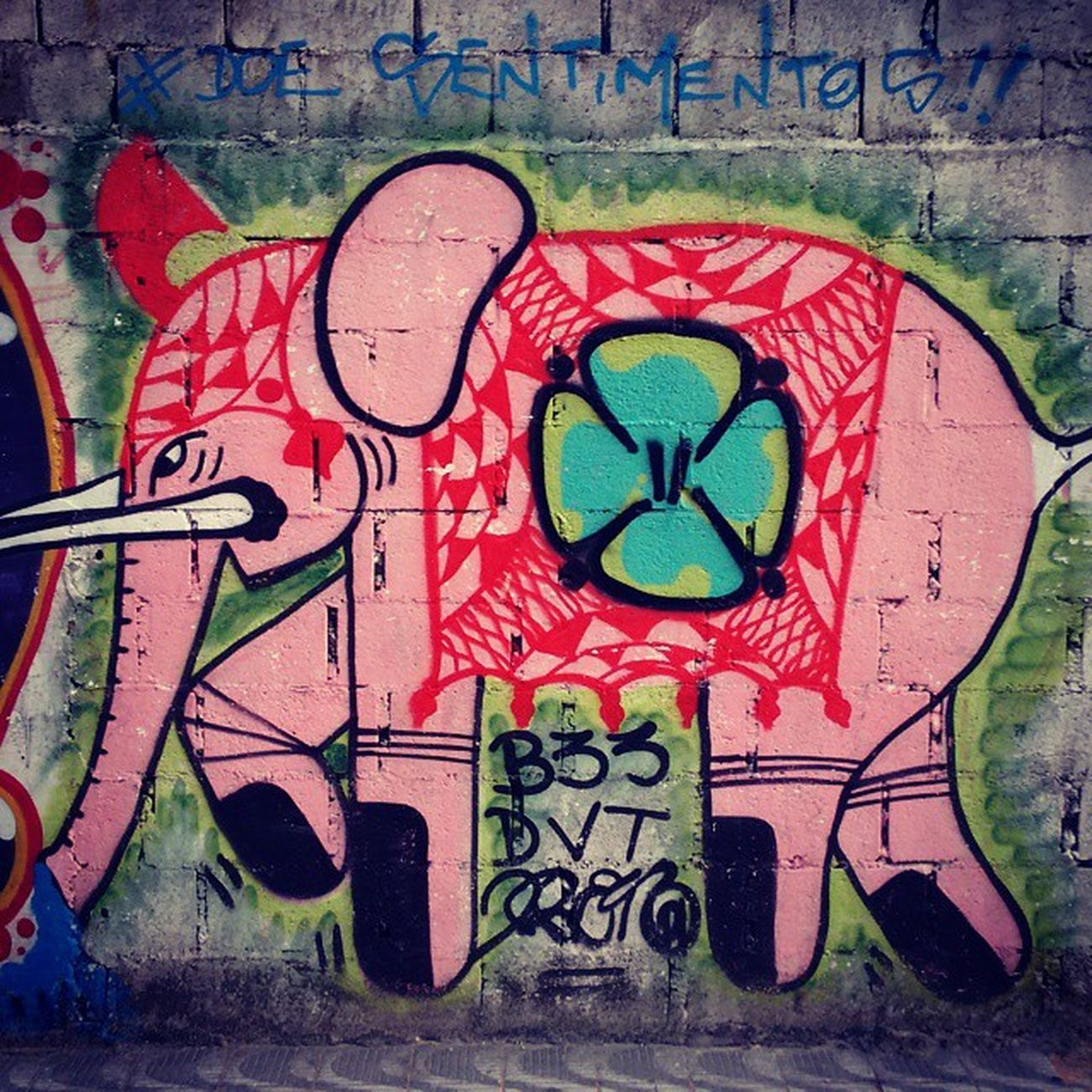 Doe Sentimentos. Globalstreetart Brazil Artederua Elefante