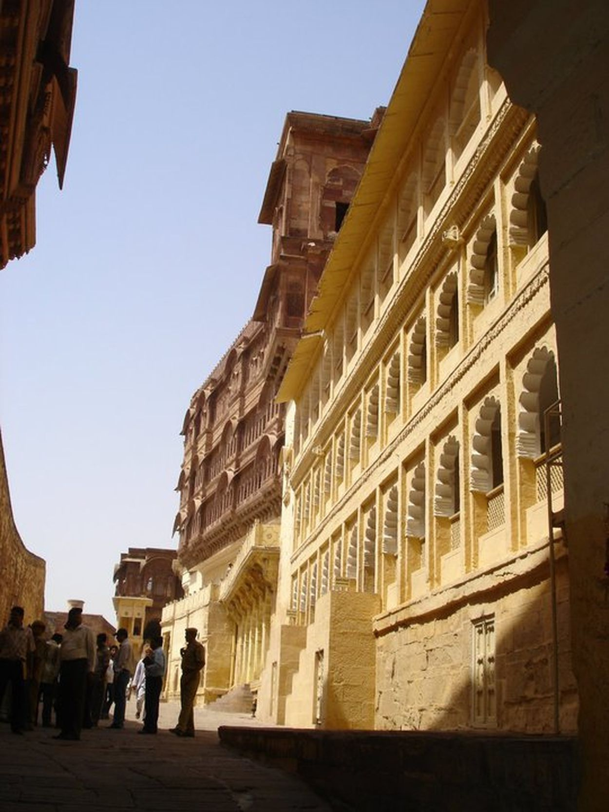 Architecture Building Exterior Built Structure Historic History Jaipur Fort Low Angle View