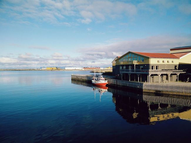 Here we are Whale Trail Tour Harbour Norway Final Destination Andenes