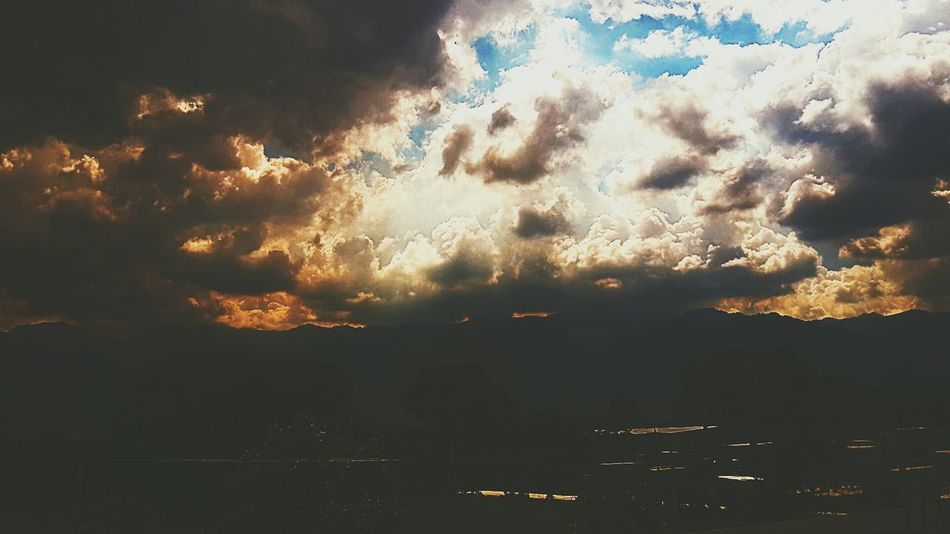 Sky And Clouds Vintage Photography Folk