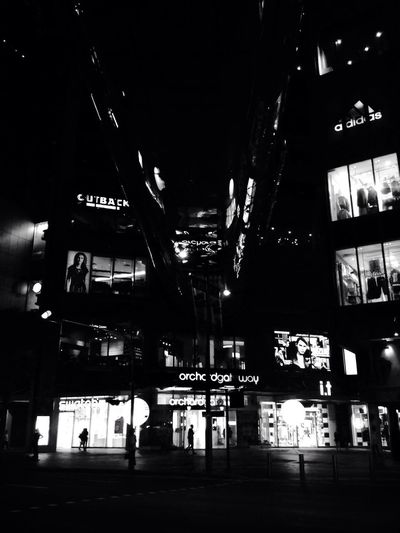 Black And White Noir Architecture