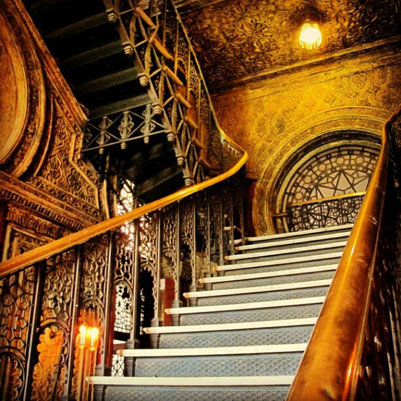 Escadaria da Fundação Oswaldo Cruz Stappen Stairs Architecture Moorish archilovers arquitetura instadaily design rio igersrio