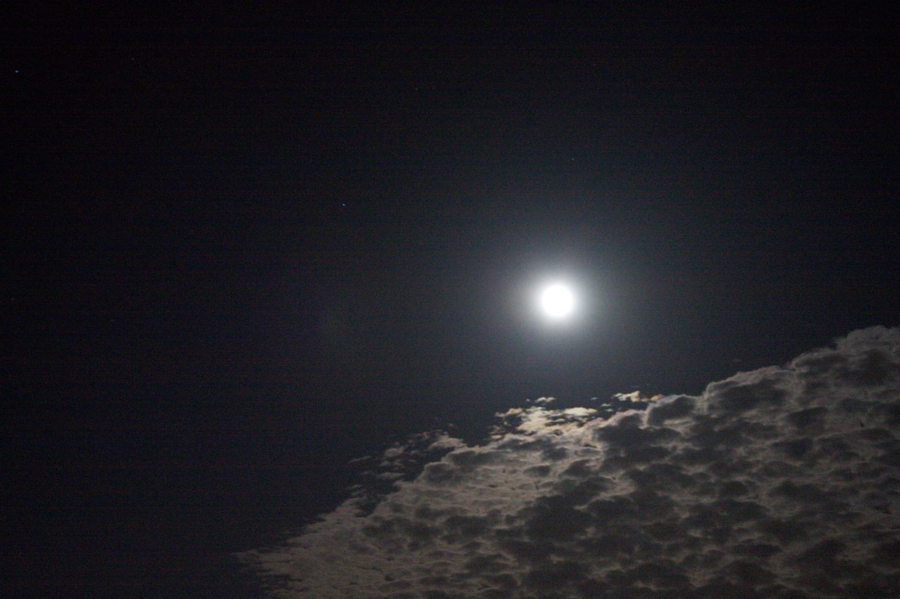Astronomy Beauty In Nature Clouds Full Moon Full Moon Night  Moon Night Sky Tranquil Scene Tranquility