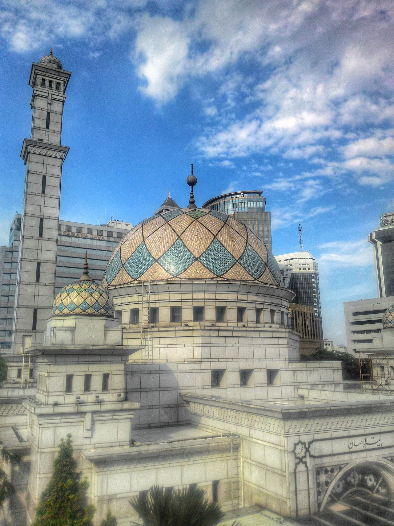 Built Structure Architecture Building Exterior Sky No People Low Angle View Day Outdoors INDONESIA Jakarta Mosque Thecitylight The City Light