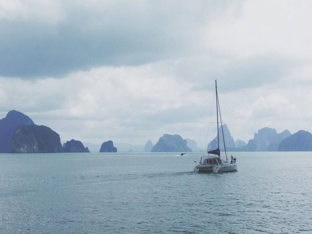 Travel the world Thailand Traveling Vacation Nature_collection Boats Ocean Nature Spotted In Thailand