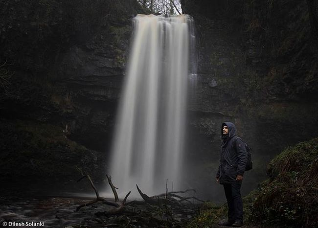 The Henrhyd waterfall as featured in Dark Knight Rises Batman Darkknight Waterfall Water Longexposure Wales Brecon Beacons Longexposureoftheday Longexposhots Photographer Photooftheday Showcase: February