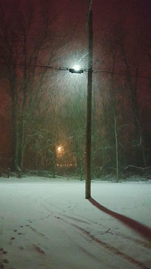 Learn & Shoot: After Dark Winter Winter Wonderland Snowing Midnight Snow February 2016 Cold Days Oldmanwinter Wewantspring