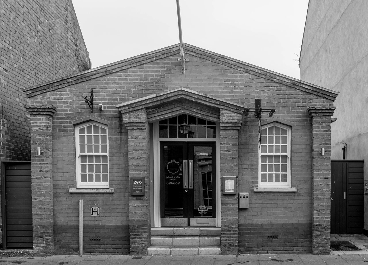 Former Mission, Market Place, Hedon Black And White Architecture Fujifilm X100T Monochrome Street East Riding Of Yorkshire Hedon Church Mision