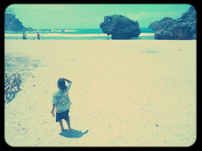 Siung beach wonosari yogyakarta