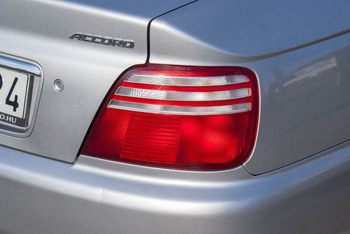 Car Close-up Honda Honda Accord Hondaaccord Tail Light Transportation