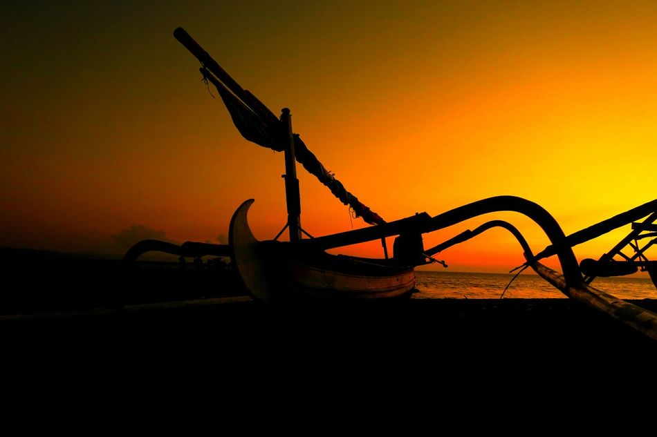 Traditional Boat Of Lombok Sunset Silhouettes Sunset_collection Lombok Island Canon PowerShot G7X Tanjung Karang Ampenan Indonesia_allshots Ampenan Sunsetlover Sunset Indonesia_photography Showcase July The Golden Moment Lombok Gallery 43 Golden MomentsIndonesian Photographers Collection