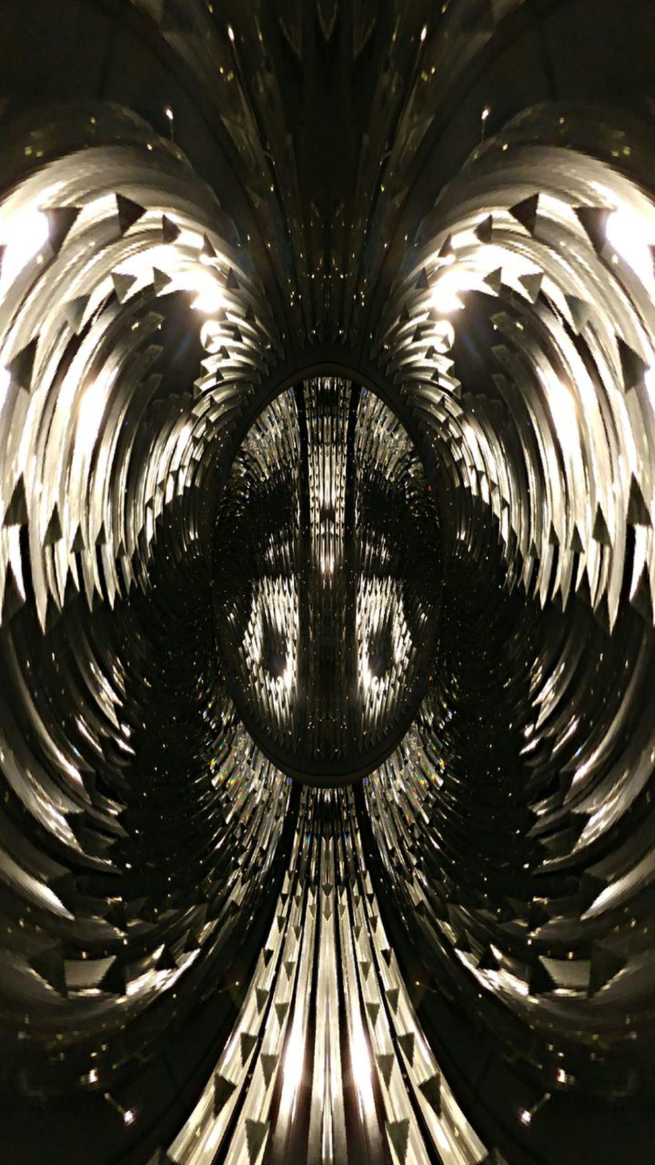 Born again Symmetry Backgrounds Abstract Angel Lights Glass PHENIX Bird Black & White Collection Simulacrum Eye In The Sky Flamboyance PHENIX