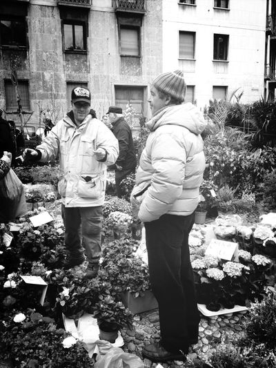 Streetphotography Blackandwhite Black And White The Gardeners