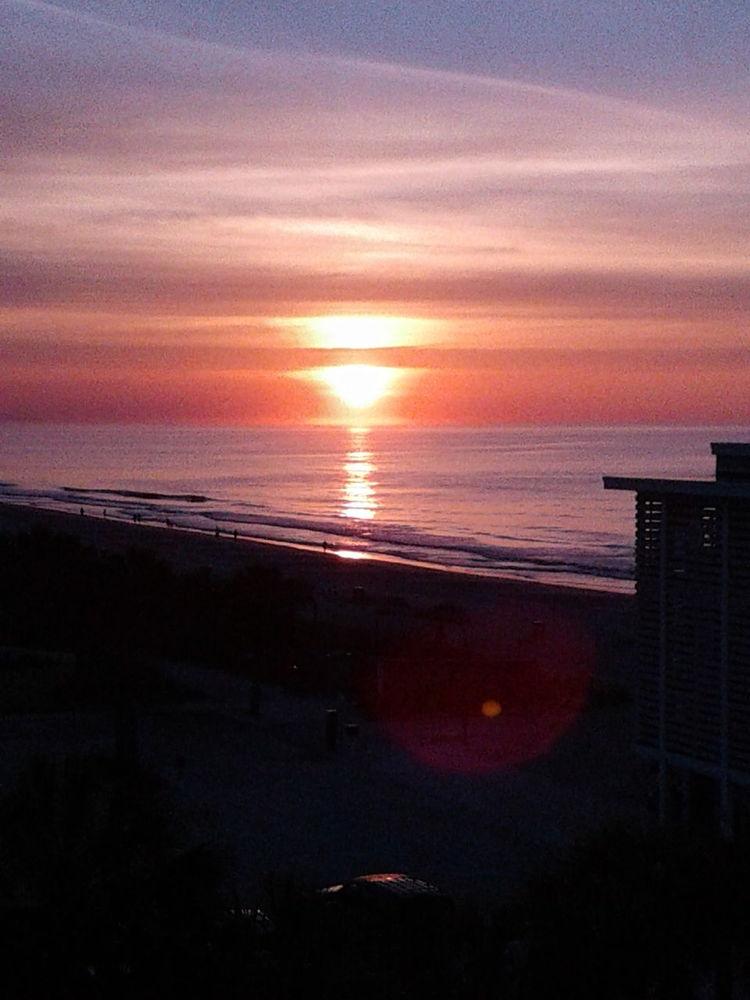 Sun Rising Sunrise Beauty In Nature Road Trippin' Carolina Country Music Festival Myrtle Beach, SC