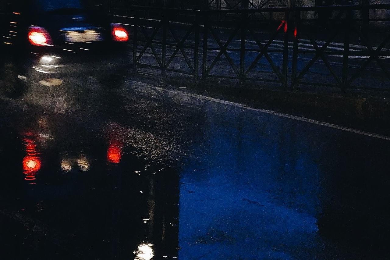 Night Car Red Light Red City Transportation Outdoors Illuminated No People Torino