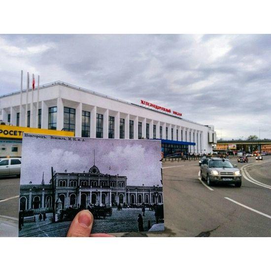 В 1910 году посимпатичнее та вокзал был! ?