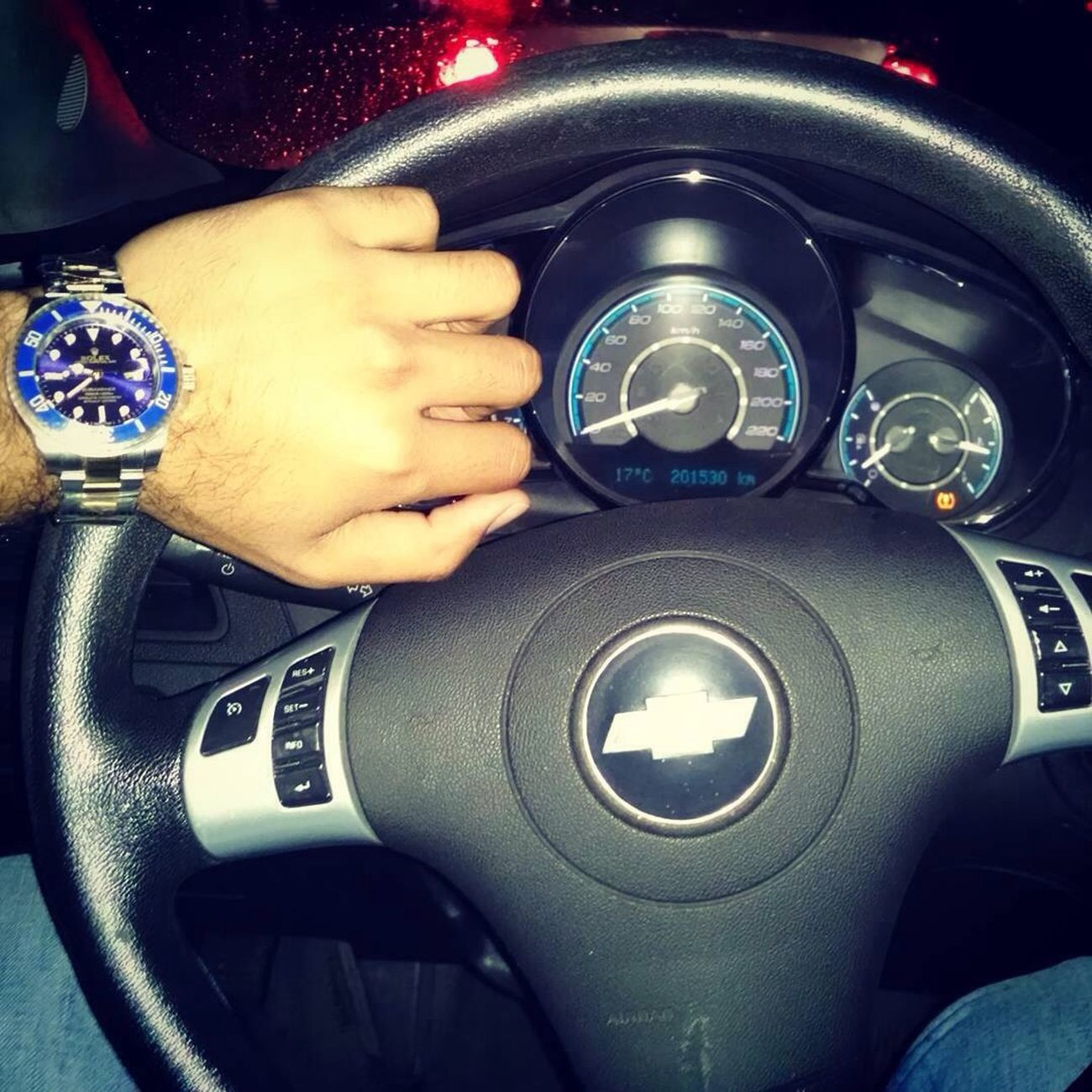 Rolex Reloj Enjoying Life Chevrolet My Car