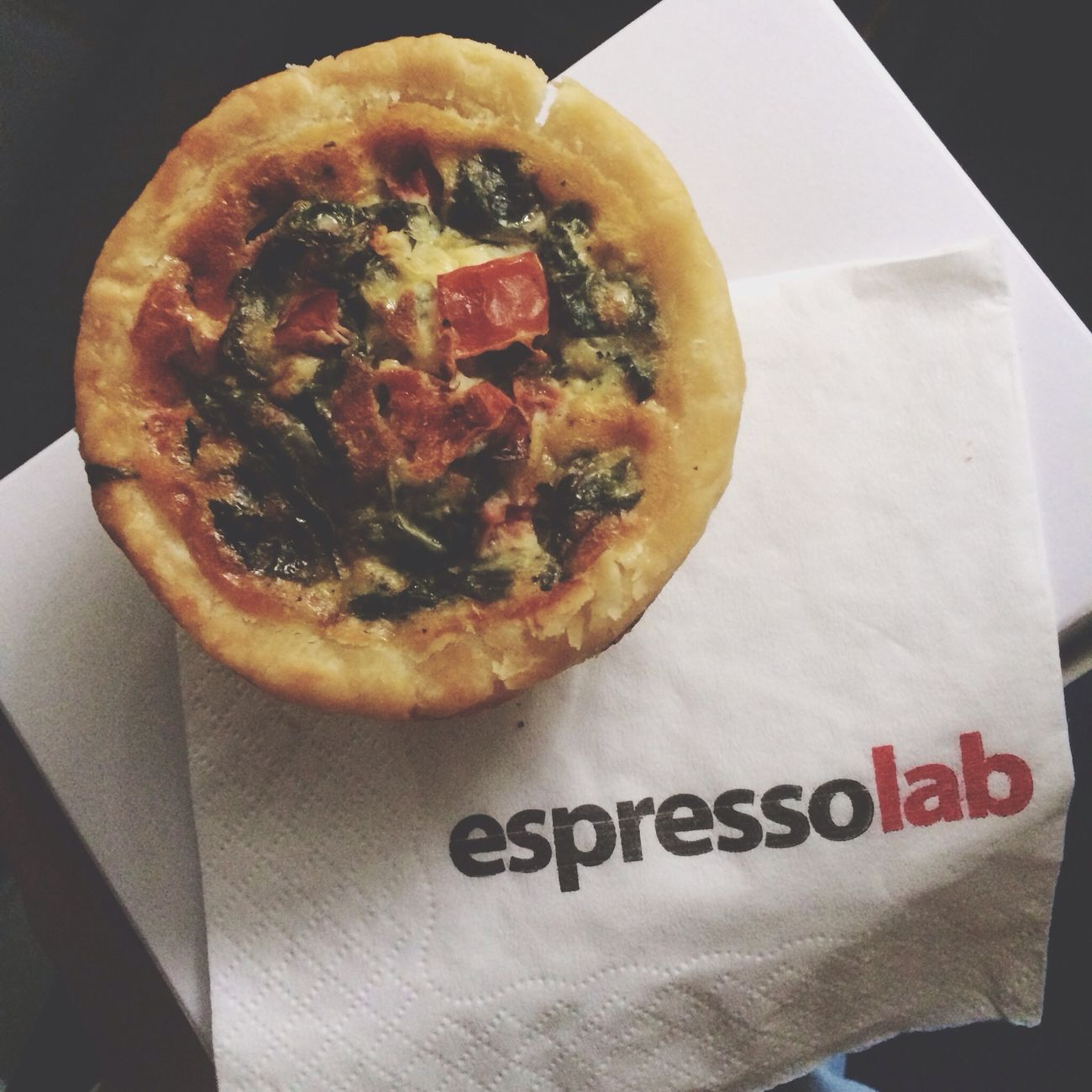 Spinach tomato quiche for breakfast. Good morning people?