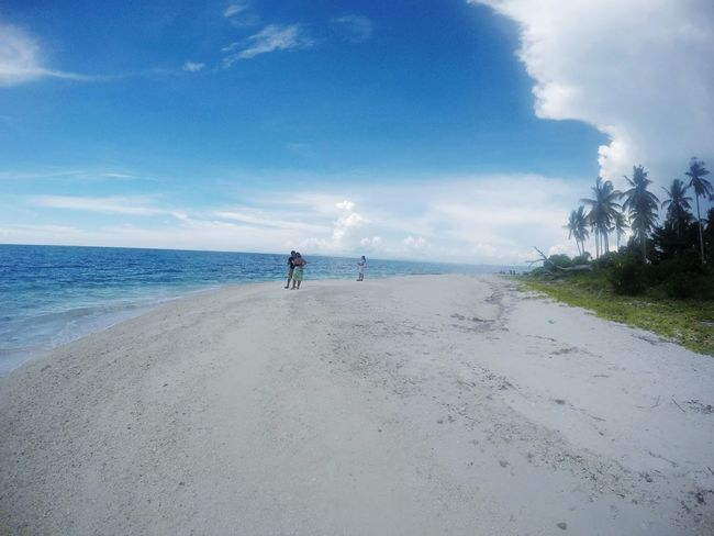 Kalanggaman Island Palompon Leyte Philippines EyeEmNewHere First Eyeem Photo Eyeem Philippines GoPro Hero 4 Silver Travel Travel Photography Nature Beauty In Nature Sea Beach Horizon Over Water Sand Nature Outdoors Sky Scenics Beauty In Nature People Water Adult Day Vacations