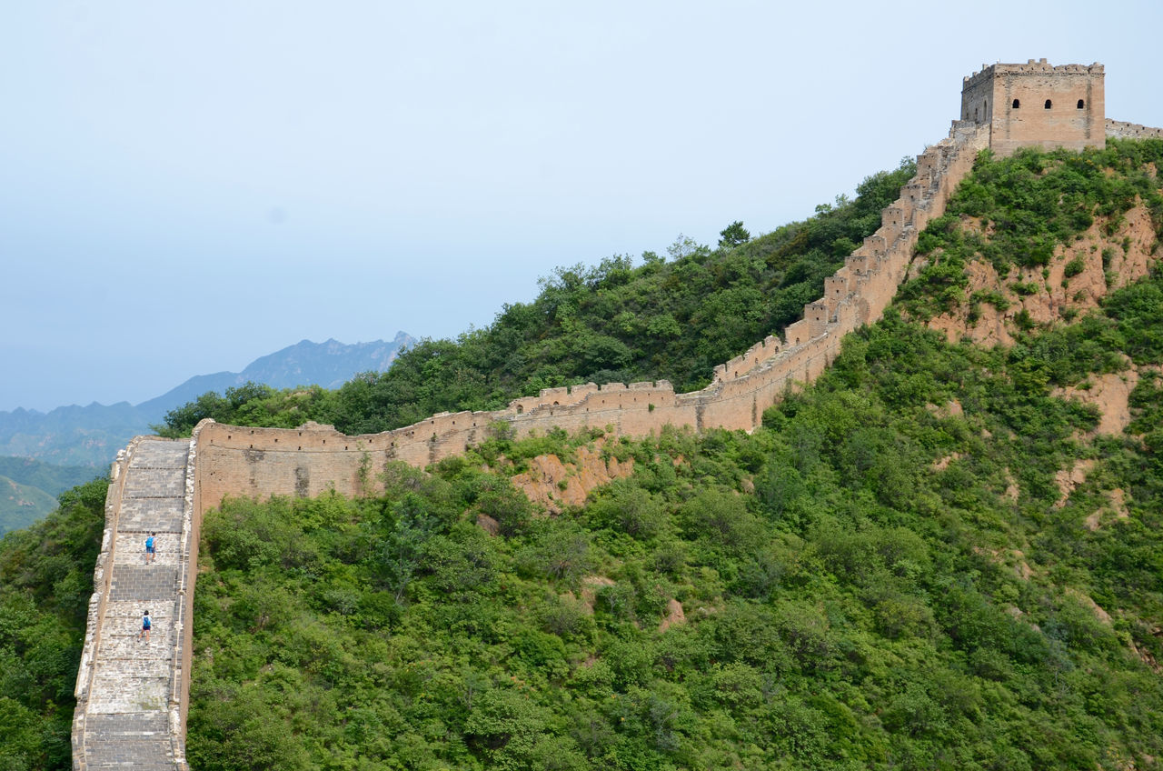 Artchetecture_collection Beijing, China Brick Wall Famous Place Gubeikou Jinshanling JInshanling Great Wall The Great Wall Of China Top Of The Mountain
