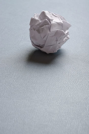 Ball Ball Of Paper Close-up Copy Space Crumpled Crumpled Paper Crumpled-up Crushed Discard Failure  Indoors  No People Paper Papierknäuel Wastepaper Wrinkled Writers Block