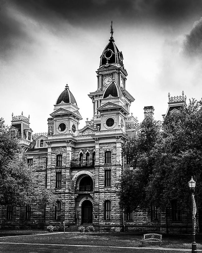 Texashillcountry Building Historical Building B&w Photography Architecture