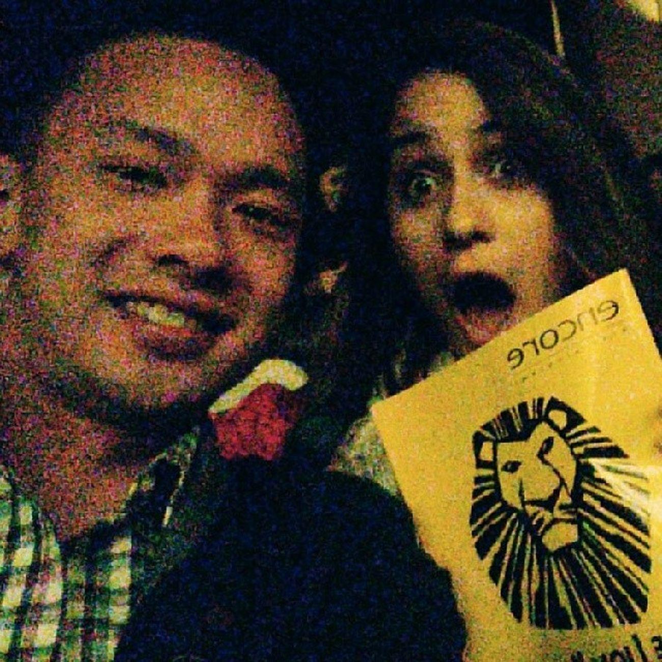 Lion King! Lionking Hakunamatata Circleoflife Ronurrutia mozzie @kerrisue24