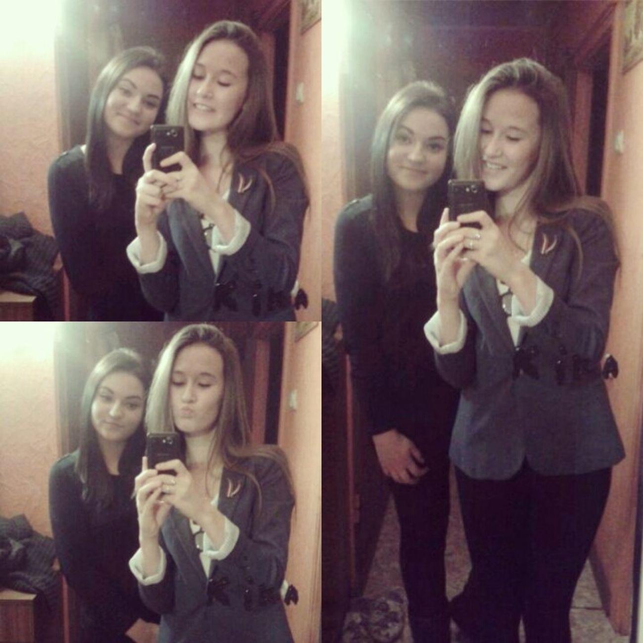 With my dearest friend ?❤