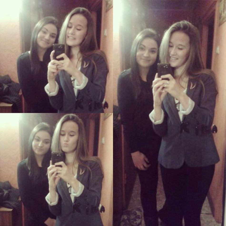 With my dearest friend ?❤