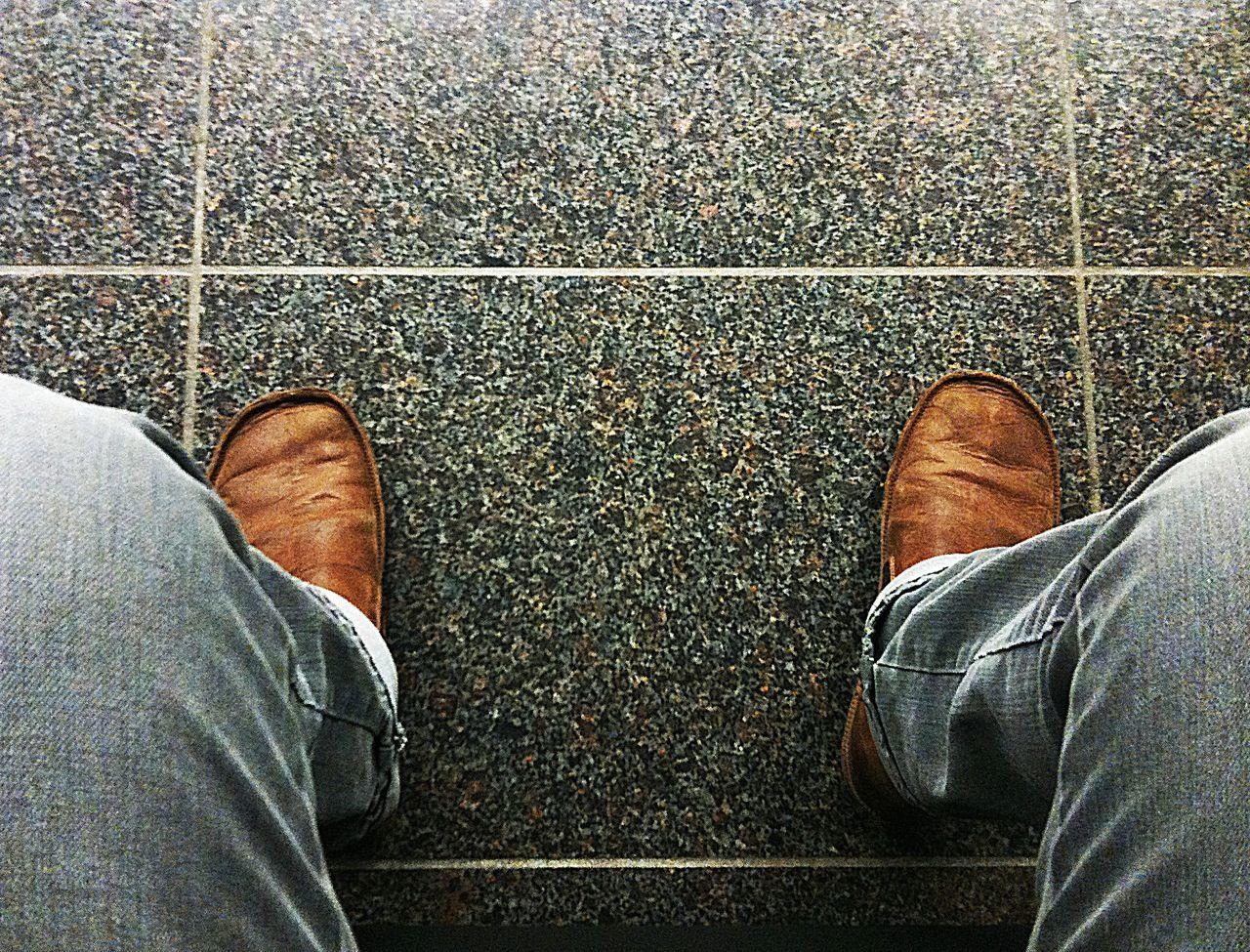 Beautiful stock photos of legs, Adult, Close-Up, Denim, Footwear
