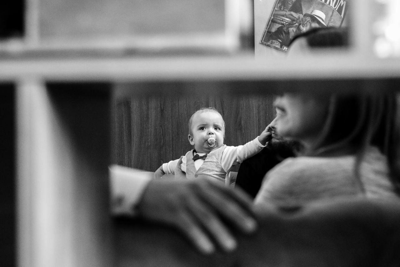 Baby Babyhood Bonding Childhood Coffee Life Indoors  People Togetherness
