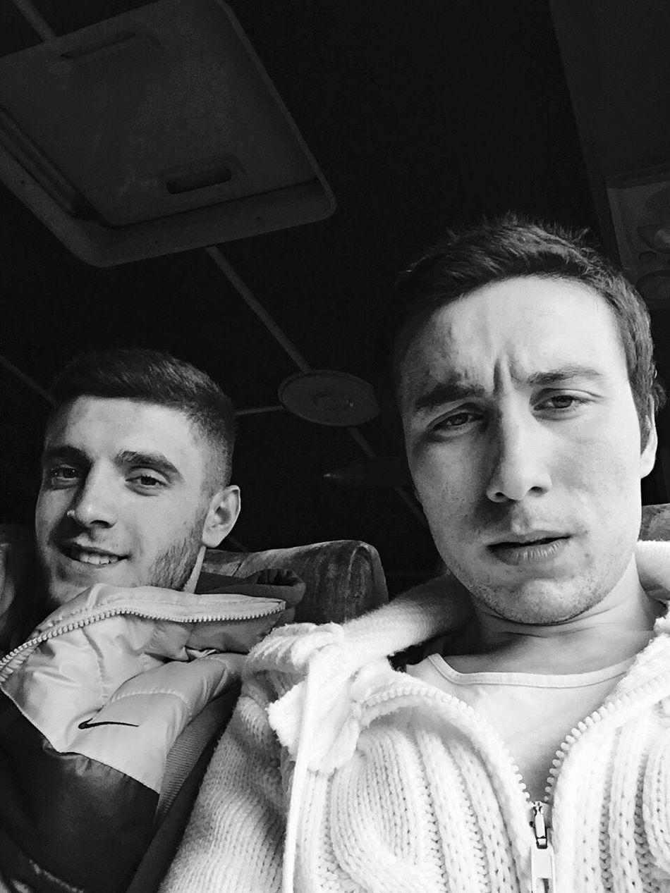 Kardeşim ve ben 👍☕️☕️