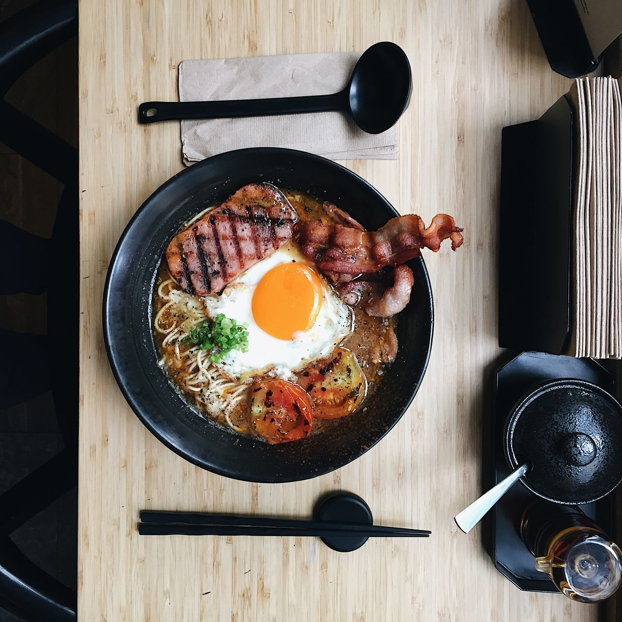 Breakfast Day Egg Egg Yolk English Breakfast Food Freshness Fried Fried Egg Frying Pan Indoors  Meat No People Ready-to-eat Sausage Sunny Side Up Table Wood - Material