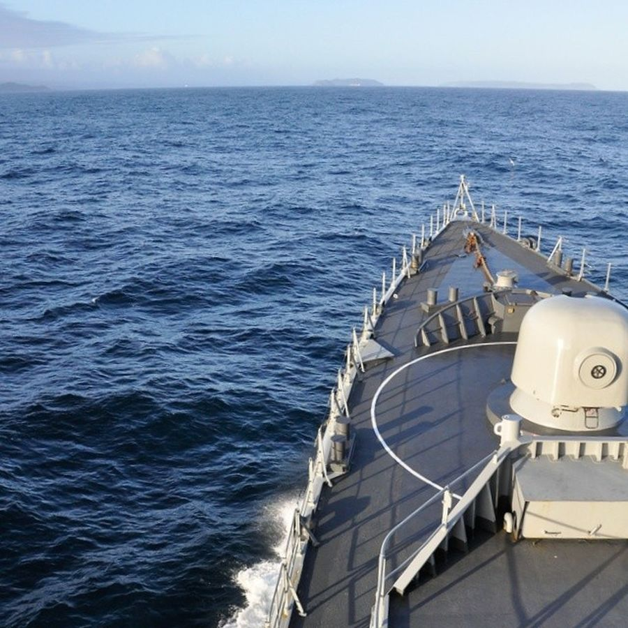 Fragata Blancoencalada Oceanopacifico