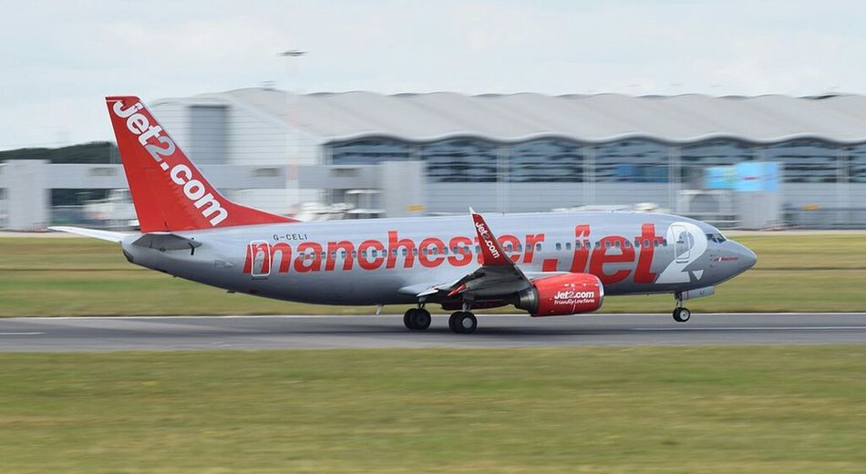 Jet2 Manchester Airplane Air Vehicle Plane Transportation Airport Runway Airport Flying Airshow Business Finance And Industry Military Aerospace Industry Fighter Plane No People Military Airplane Outdoors Day Panning Panningphotography Aviationphotography
