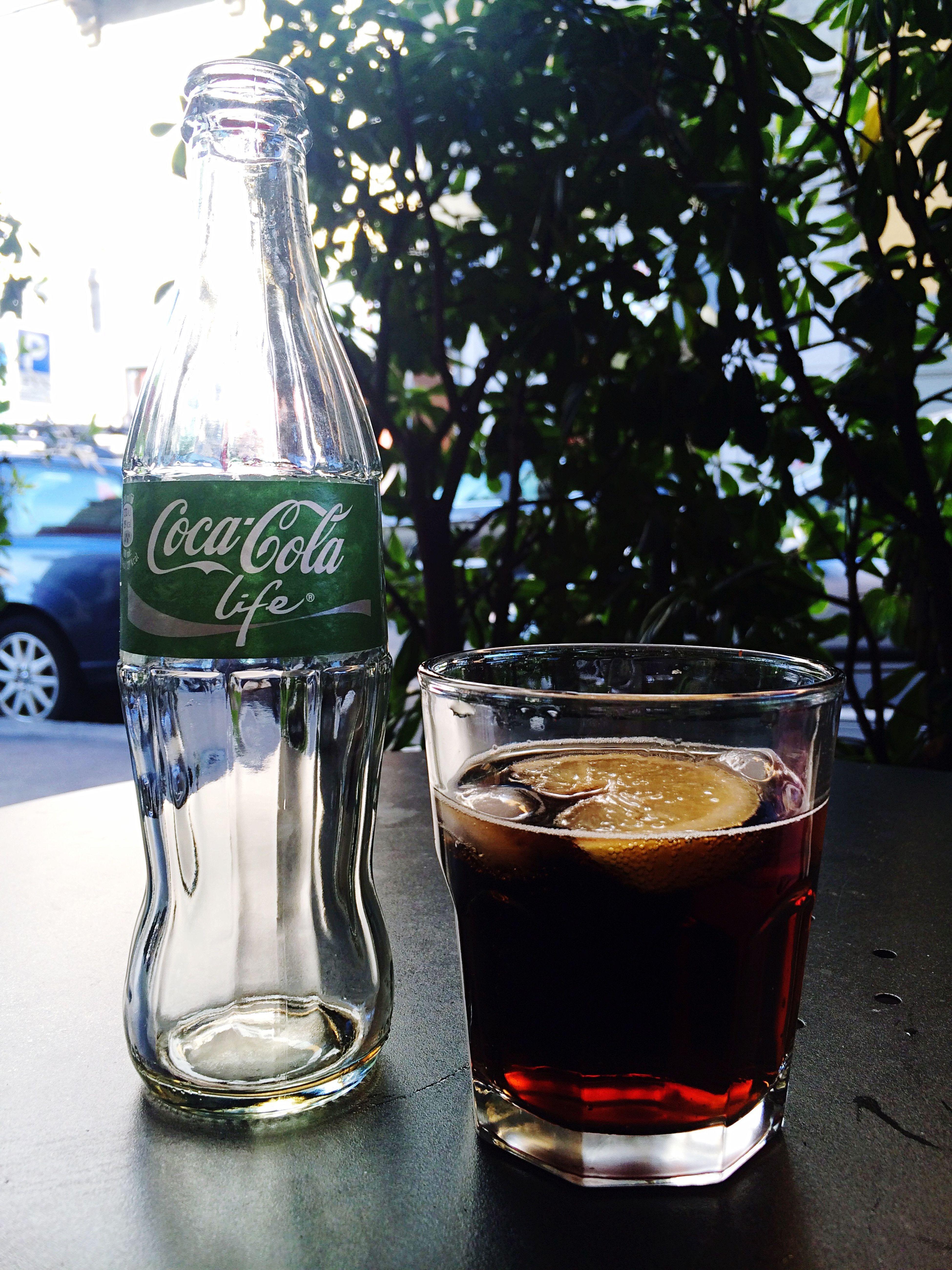 Cocacola Cocacolalife Ghiaccioelimone facciamo le salutari ✌🏼️