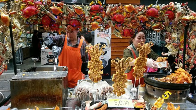 The beauty of street food