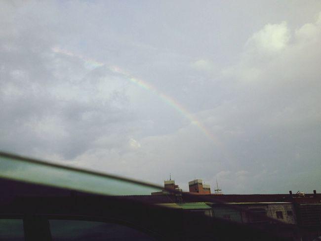 Rainbow! Getting In Touch Enjoying Life Enjoying The View Walking Around