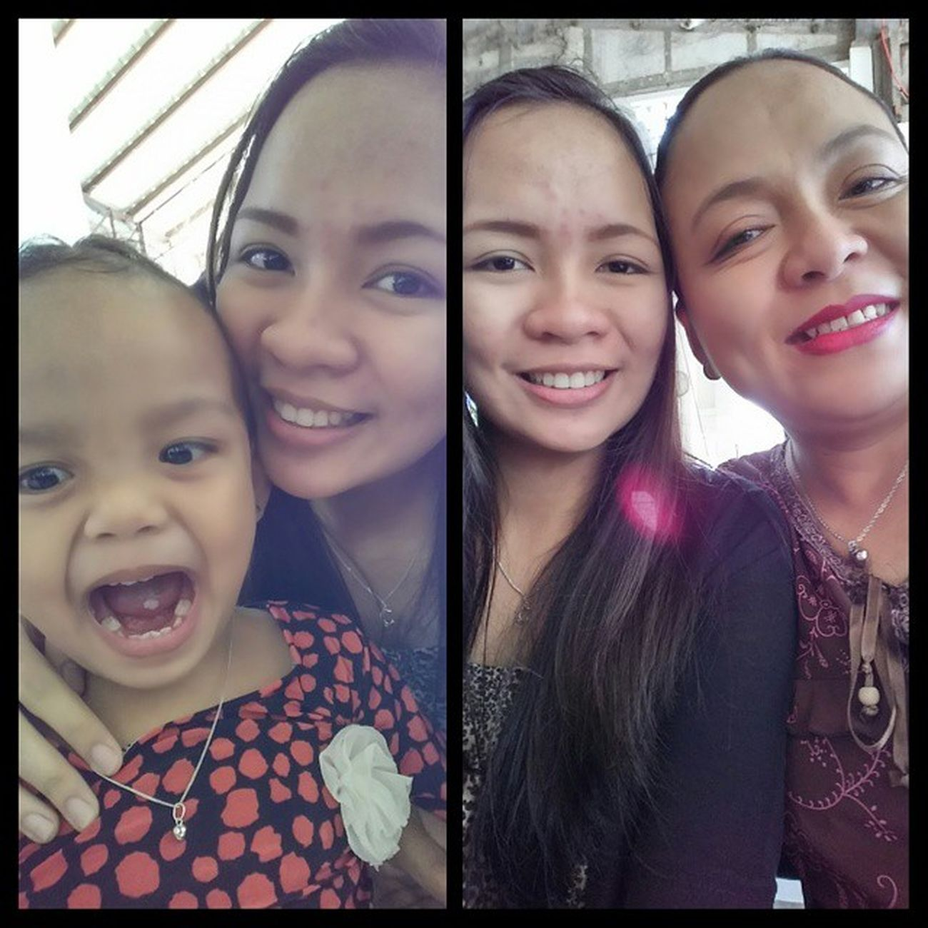 Like mother, like daughters 💁 LoveOurSelfie Monthoflove ❤