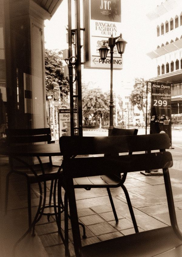 It seems in desolated town this afternoon. Desolate Business District Feel Lonely Vacancy